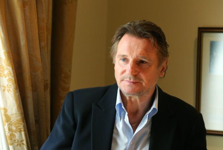 Liam Neeson in Ballymena