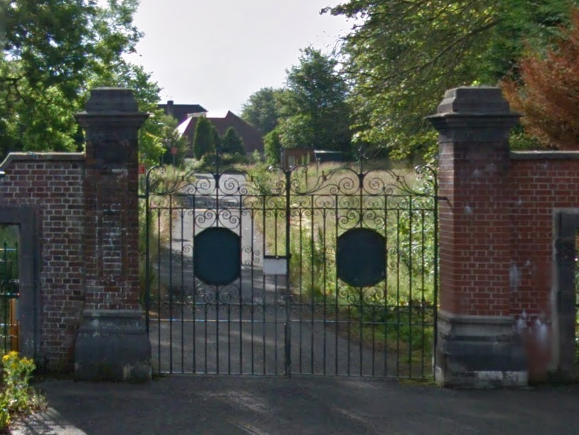 The entrance to the former St Patrick's army barracks in Ballymena. Now there are multi-million pound plans to redevelop the site. Picture – Google Maps.